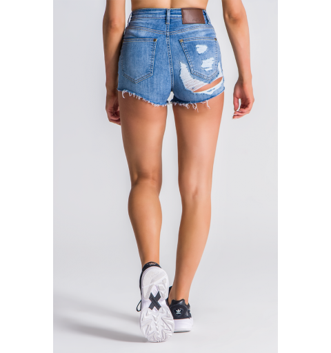 Shorts KAVANAGH Blue Peekaboo