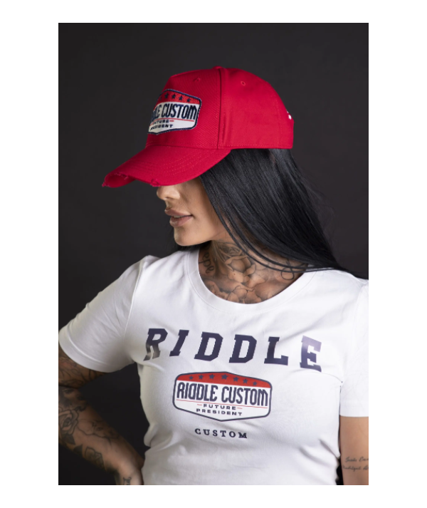 Gorra RIDDLE CUSTOM U.S. Red